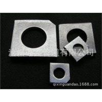 供应齐鑫大量批发槽钢用方斜垫圈F13.16,单级节流孔板。