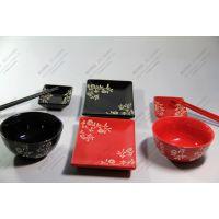 日式碗碟盘筷八件套 日本和风/日本料理/日式餐具/创意餐具/礼品