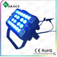 厂家直销 20颗12W四合一LED防水洗墙灯户外防水帕灯投光灯