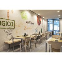 供应上海现代简约咖啡厅桌椅咖啡厅实木桌椅定做