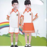 新款夏季幼儿园园服班服运动套装校服订做高质量校服