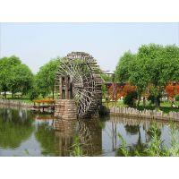 供应海锐德龙骨水车专业水车制作园林水车武汉地区一家做水车的企业