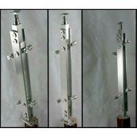 赛凌斯厂家直销304不锈钢精密铸造楼梯立柱/栏杆立柱