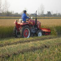 圣通销售农民致富好帮手收割机 小田地专用割晒机 席草收割机