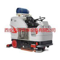 汉中驾驶式洗地机厂家、驾驶式洗地机、知洋环保