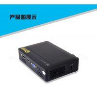 投迪清TDQ-82家用高清1080P投影仪LCD便携小型3d办公正投投影机