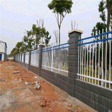 室外围栏 铁艺护栏网 方管围墙栏杆