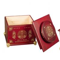 东莞茶叶盒包装盒厂家供应云南茶叶盒包装 喷漆木质茶叶盒子