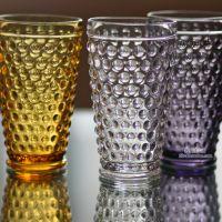 2014夏季新款复古浮雕铆钉玻璃杯圆点水杯子咖啡啤酒杯zakka高款