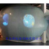 玻璃钢景观雕塑 玻璃钢树脂前厅模型雕塑