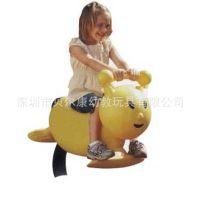 儿童摇木马|单人摇乐|游乐设施摇马
