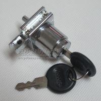 熳钖 H锁玻璃锁 玻璃滑槽锁 卡槽玻璃锁 铝合金滑槽锁 柜台移门锁