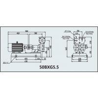 气液混合泵 型号:50BXG5.5库号:M311001