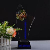 西安水晶奖杯 陕西西安定制公司年会水晶礼品厂家
