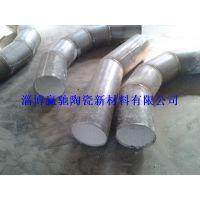 淄博赢驰厂家直供电厂输粉氧化铝耐磨陶瓷管道弯头