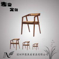 火锅店实木餐椅款式,实木椅子厂家定做,餐桌椅厂家生产
