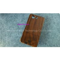 Genuine Walnut Wood Phone Case Protetive Mobile Phone Cases Wooden Back Cover For Sony Z3 Mini