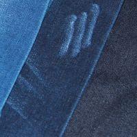 直筒牛仔裤面料10盎司竹节丝光牛仔布料