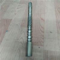 供应201不锈钢立柱压花管,佛山不锈钢管压花管加工厂
