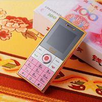 2014新款国产金翰A81超薄卡通钱币画片迷你版时尚个性微型小手机