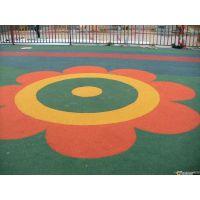 上海幼儿园操场现浇地坪,优质EPDM塑胶地面,厂家施工、价格合理
