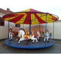 供应儿童玩的简易旋转木马,庙会用的折叠旋转木马厂家