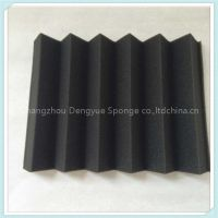 Black color Recording room fireproof adhesive Acoustic foam