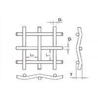 福朗斯金属丝网(已认证),不锈钢网,席型编织不锈钢网