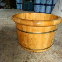 圆边香柏木足浴盆泡脚木桶洗脚木盆产地货源