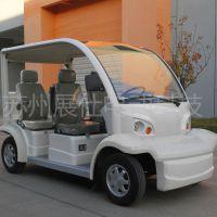 苏州展仕电动观光车 4座看房代步车 景区游览电瓶车价格