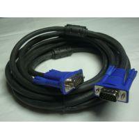 VGA连接线 与电脑和液晶电视视频线40米VGA线3+6芯双磁环