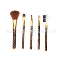 专业生产迷你5支化妆套刷 化妆包专业化妆工具套装 正品