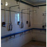 上海浴室洗澡刷卡器hx-801厂家直销价格,一人一卡洗澡插卡机