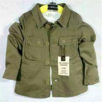 春秋款新款男童装全棉休闲外套3到9岁童长袖开衫套 喔也库存童装外套