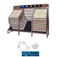 柏宽供应,双排斜趟式瓷片展示架,柏宽定制展架,瓷砖地板专用展架