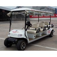 无锡锡牛XN2086白色高尔夫款电动观光车 电动看房接送电瓶代步车 送遮雨帘防尘罩