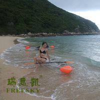 瑞思凯漂流船PC透明船 透明划艇 出租划船