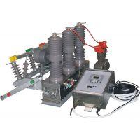 10KV高压线路整改专用柱上真空断路器 紫辉ZW32-12F户外高压真空断路器