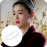 韩国定制来自星星的你全智贤千颂伊同款闪亮弹性发带头带 多色