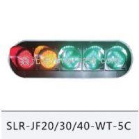 智能交通设施红黄绿满盘交通信号灯