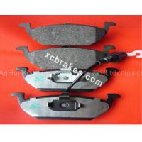 auto parts ceramic brake pads for VOLKSWAGEN Beetle 1999