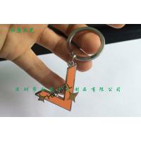 广州定制锌合金镂空钥匙扣吊坠 卡通logo烤漆工艺广告促销礼品定制工厂