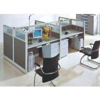 重庆办公屏风会议桌折叠桌主管桌班台班椅员工宿舍铁床折叠床厂家