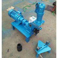 电动液压压槽机多少钱一台滚槽机TYYC-168开槽机厂家直供沟槽机图