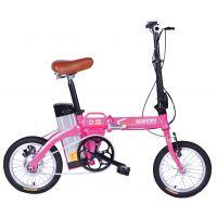 飞鸽14代驾锂电自行车