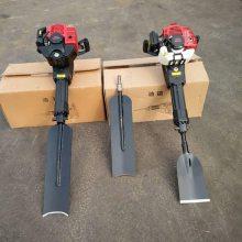 厂家直销新款铲式断根挖树机 汽油挖树机 绿化树移栽机
