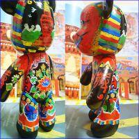 么么熊-DIY么么熊-深圳DIY么么熊涂鸦玩具素体 厂家批发直销