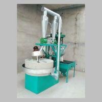 供应商用全自动石磨面粉机 90型号面粉电动石磨机价格