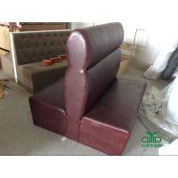 火锅店软包卡座沙发 餐厅卡座沙发、桌椅批发厂家运达来 广东家具定制