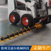 牧场牛床旋转式疏松机自动疏松装置 滑移装载机配牧场设备卧床松耙器